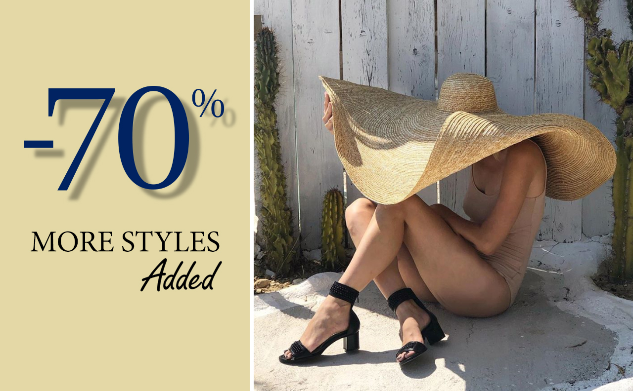 More Styles added -70%