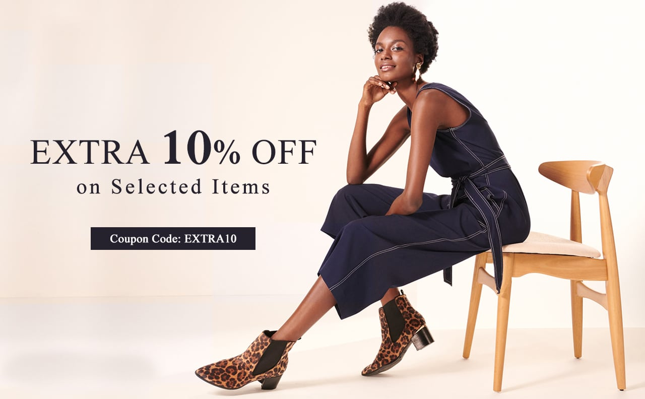 Extra 10% off selected items