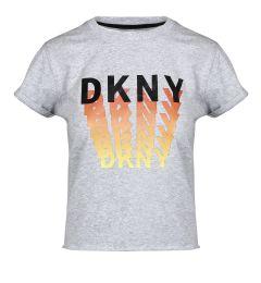 DKNY OMBRE LOGO SS TEE DP0T7205