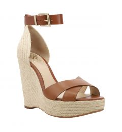 VINCE CAMUTO WEDGE ΤΕΛΑΤΙΝΙ & ΣΧΟΙΝΙ VC MAURITA NEVAES ΨΗΛΗ
