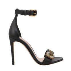 ALEXANDER MCQUEEN LEATHER UPPER AND SO 611730WHXN2