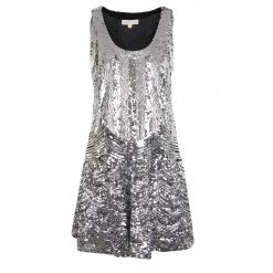 MICHAEL MICHAEL KORS SEQUIN SLIP DRESS MH88YHPANS