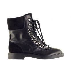 CASADEI LADIES LEATHER ANKLE-BOOTS 1R732H0201X343000 SHOETIES