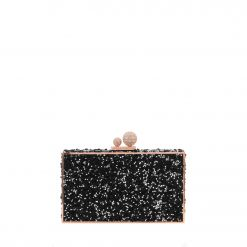 SOPHIA WEBSTER Clara Crystal PVC/Crystal Box Bag BSS19009 CLUTCH
