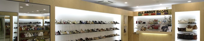 All about shoes, Stores
